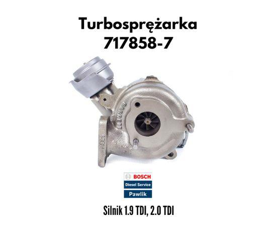 Turbina VW Passat B5 Skoda Superb 1.9TDI AWX 130KM