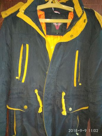Курточка парка зимняя подростковая