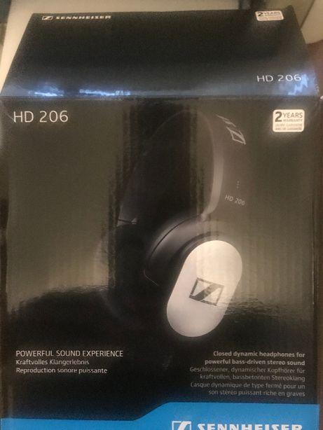 Наушники Sennheiser HD 206