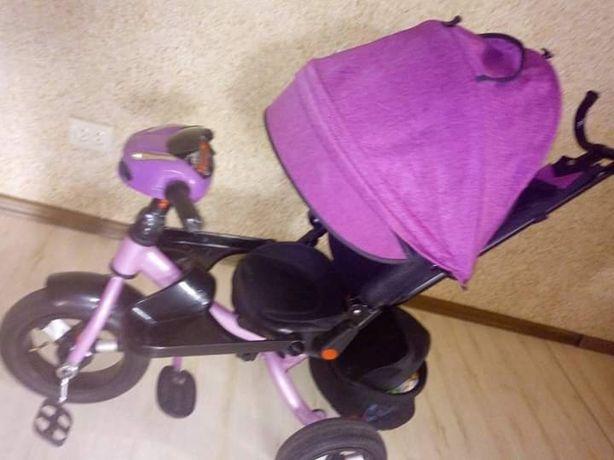 Продам 3-х колесный велосипед с родительской ручкой.