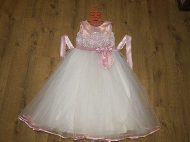Платье для девочки праздничное, 8-10лет
