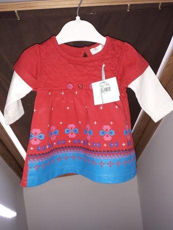 Sukienka M&Co r. 0-3 M - Nowa