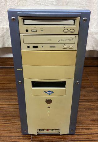 Caixa PC + Fonte Alimentação + 2 Drives CD/DVD