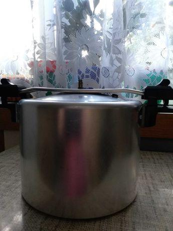 Szybkowar PRL aluminiowy węgierski Kukta, 5 litrowy