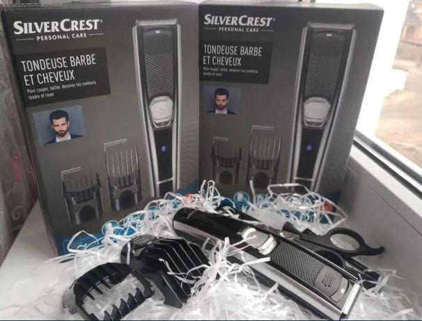 Триммер для волос и бороды SilverCrest SHBS 500 / Машинка для стрижки