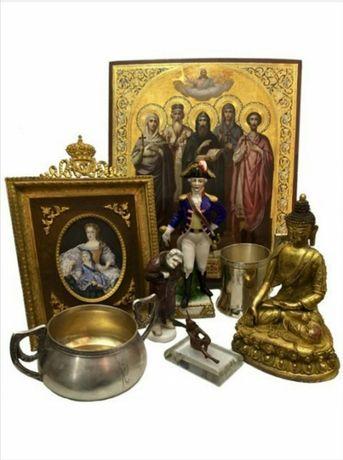 Иконы Оценка антиквариата.Иконы ,ордена, медали, монеты