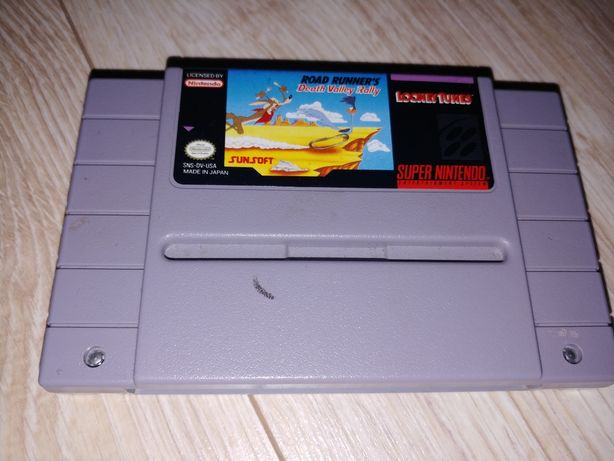 Gry na Super Nintendo SNES wersja amerykanska