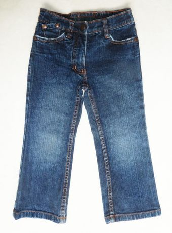 Классические джинсы для девочки H&M L.O.G.G. на 2-3 года рост 92-98 см