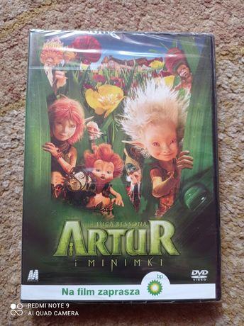 Artur i Minimki film dvd