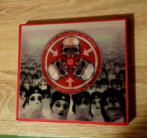 30 Seconds To Mars A Beautiful Lie Deluxe Edition okładka 3d