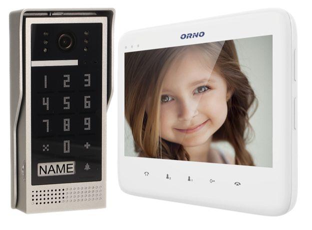Zestaw wideodomofonowy ORNO OR-VID-VP-1055/W