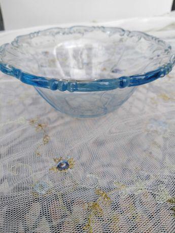 Piękna błękitna miseczka art deco