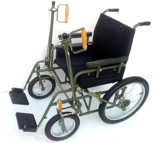 Инвалидная коляска с ручным приводом дорожная ДККС-3