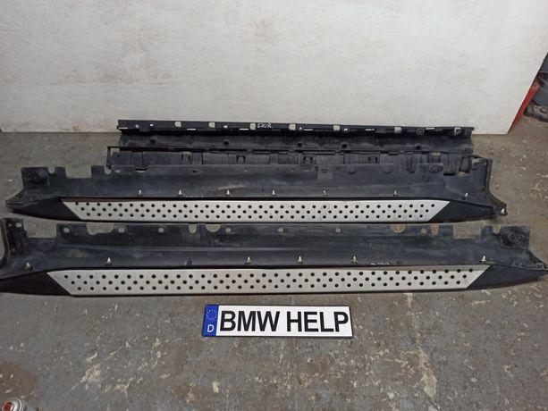 Пороги Крепление Кронштейн БМВ Е70 Е71 Х5 Х6 Разборка BMW HELP