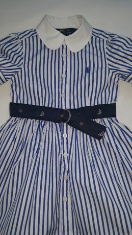 Ralph Lauren nowa sukienka rozm. z met.2/2T