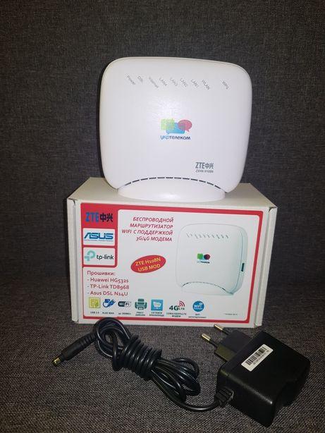 WiFi роутер с USB (под модем CDMA/HSDPA/LTE) 300Мбит Asus DSL-N14U