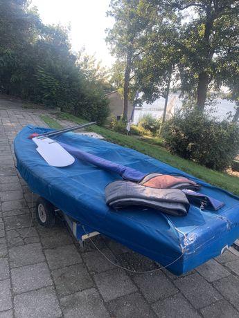 Łódka klasy OK DINGHY