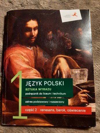 """Podręcznik do języka polskiego ,,Sztuka Wyrazu"""" część 2"""