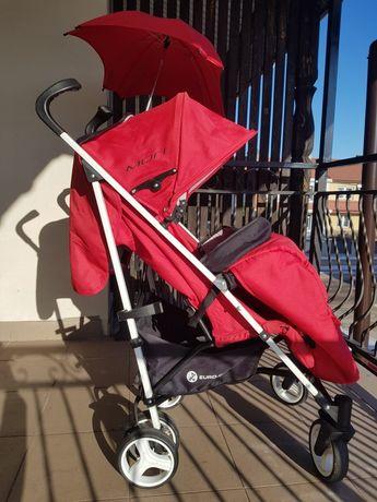 Wózek spacerowy spacerówka parasolka Euro-cart Mori +gratisy