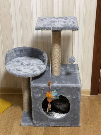 Домик для кота и кошки Лежанка Дряпка Производитель Подарок