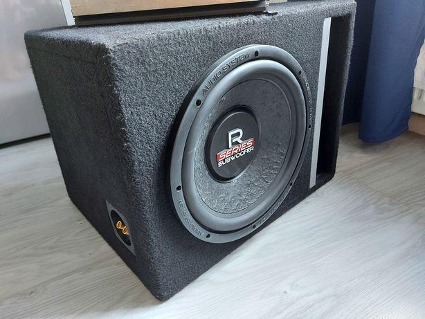 Subwoofer Audio System R 12 30cm Wzmacniacz Jensen Power 760W