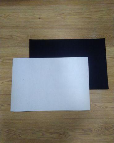 Фильтр для вытяжки большого размера 60*40 см чёрный и белый