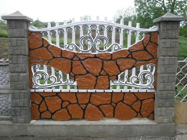 Огорожа,забор,евроогорожа,бетонна огорожа,бетонний забор,огорожі,