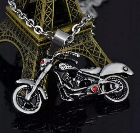 """Naszyjnik motocyklowy """" Red's eyes Ghost Rider """""""