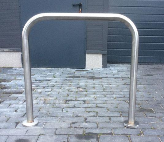 stojak rowerowy U stojaki rower rowerowe nierdzewny INOX barierka