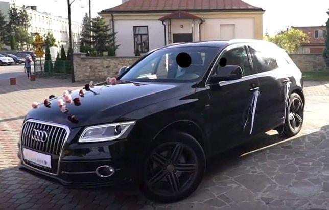 Auto do ślubu Audi Q5 S-line
