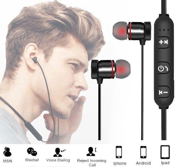 Słuchawki Bluetooth Sportowe Douszne Bezprzewodowe Częstochowa - image 1