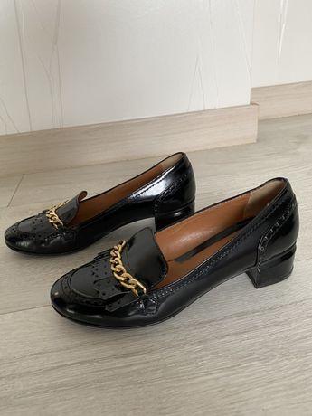 Туфли на устойчивом каблуке Napoleoni Italy