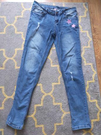 Spodnie dzins na 170 cm