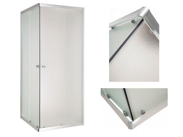 Kabina prysznicowa 90x90 drzwi rozsuwane INVENA