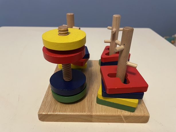 Sorter układanka drewniana dla dzieci