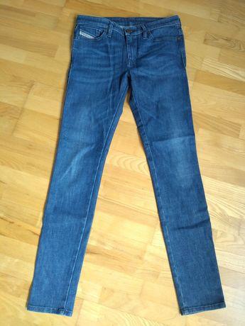 Spodnie jeansy diesel 27 / 32 skinzee
