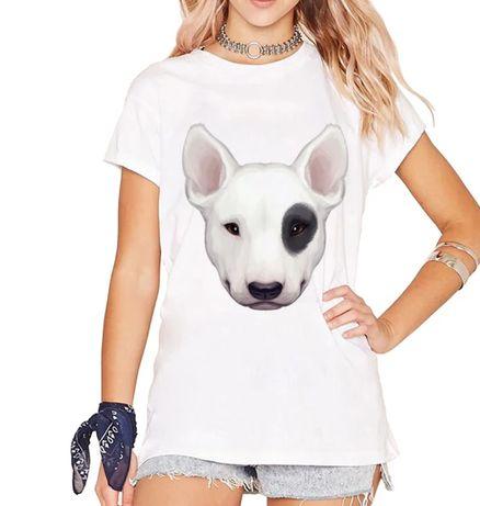 Koszulka bluzka t-shirt Bullterrier Bulterier pies S-XXL