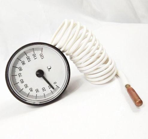 Termómetro Capilar analógico 52 mm até 120º sonda 110 cm (novos)