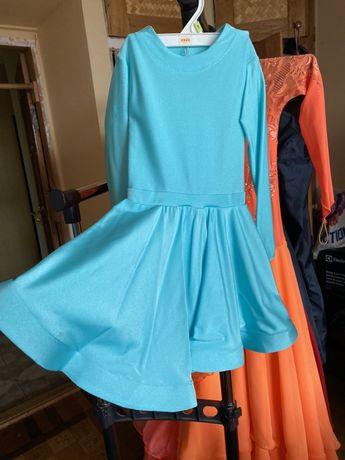 Бальное платье бейсик бейзик для танцев детское