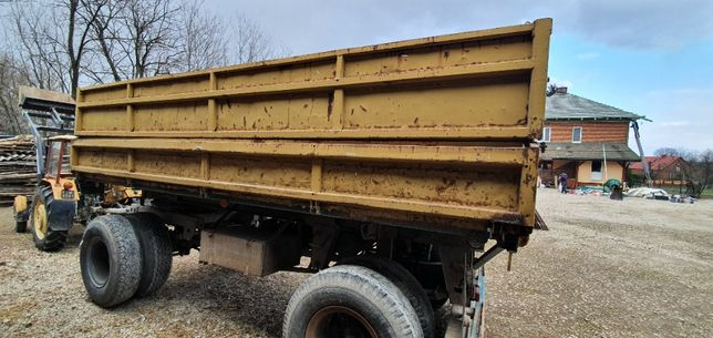 Przyczepa rolnicza Brandys 1612h , 12 ton