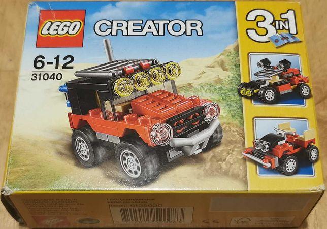 Klocki LEGO Creator Pustynne wyścigówki 31040