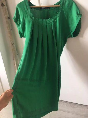 Zielona sukienka ZARA rozmiar M