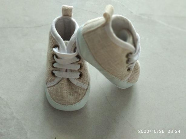 Butki 2-6miesięcy dla niemowlaka chrzest / do chrztu buty niemowlęce