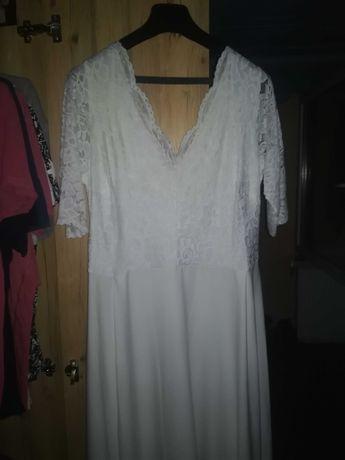 Sukienka ślubna duży rozmiar !!
