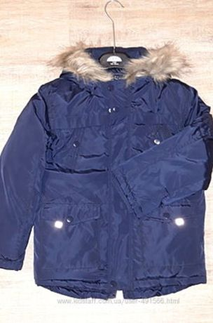 куртка парка George на мальчика на рост 128см 7/8лет