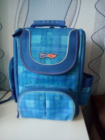 Рюкзак ранец портфель школьный ортопедический Tiger Max с ланч-боксом