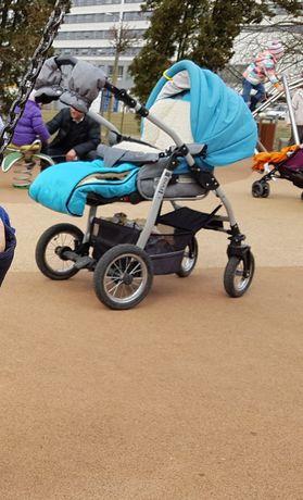 Wózek spacerówka i gondola Jedo Fyn alu