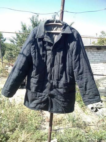Куртка зимняя ватная рабочая.
