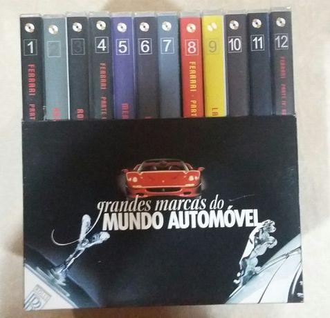 DVD marcas automóveis famosas