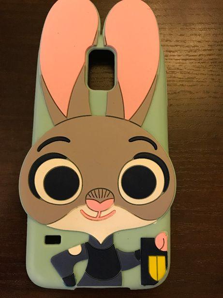 Etui silikon telefon Samsung S5 Judy Hopps Zwierzogród